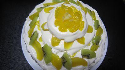 お手製ケーキ