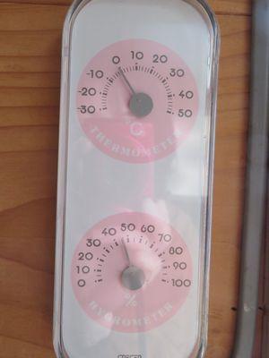 温度、湿度計