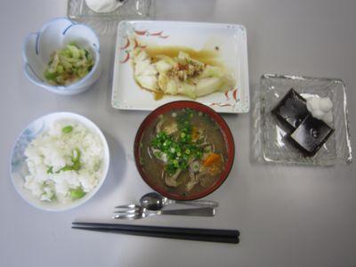 低栄養予防の食事